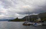 Castle Moil & Harbour.