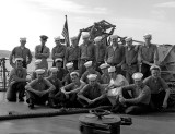 USS HughPurvis DD 709 OI Division, 1962