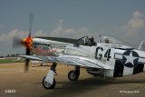 P51 D  leaving for a flight.  image number A5484D