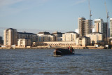 Looking back to Blackwall