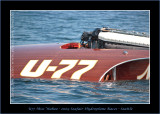Seafair 2009 Hydroplane Races - U77 Miss Wahoo