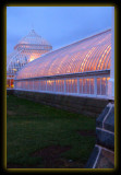 Outside Phipps Conservatory at Christmas Time