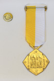 Papal Honours -The Cross of Pro Ecclesia et Pontific for distinguished service to the Church and the Papacy