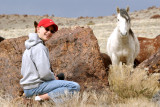 Zach shooting the wild horses.JPG