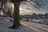 Galena Winter Sunset  - Galena, Illinois