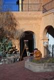 Painter - Old Town - Albuquerque, New Mexico