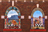 Beautiful Murals on Building - Silver City, New Mexico