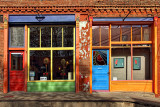 Double Doors - Silver City, New Mexico