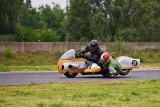 Une Manche du Championnat de France de Side-Cars Anciens 12 Juin 2010 Circuit Carole