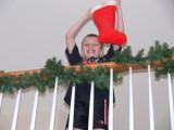 Santa filled his stocking