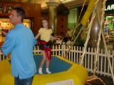 Bungee Jumping in Rivergate Mall