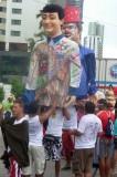 Carnaval 2009. Bonecas Gigantes no Camburao   P1010756.JPG