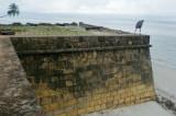 Eckhart auf den Mauern des  Forte Orange    P1020282.JPG