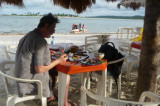 Na Praia da Ilha da Itamaracá   P1020291.JPG