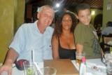 Elaine und Steven im Entre Amigos     P1020316.JPG