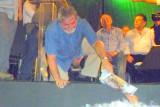 LUIZ INÁCIO LULA DA SILVA  VERABSCHIEDET SICH VON SEINEN PERNAMBUCANERN: RECIFE ANTIGO: PRAÇA MARCO ZERO 28.12.2010