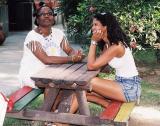 A Graça e a Nisinha  no Hotel Fazenda Village Rio Verde 000008.JPG