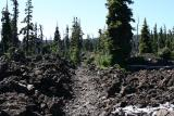 Worn trail in the lava bed 0172s.JPG