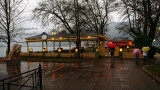 Cafe by the lake