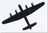 Lancaster silhouette.