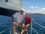 Sailing with Ralph and the Scouts