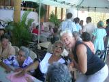 Norma Helena sings for the Senior Citizens