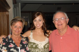 Emily with Mom and Dad