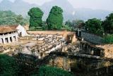 Ruins of the colonia prison cells, Son La