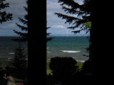 2009: Visiting the Roths in Mackinaw City (August)