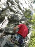Pilot Mountain Climbing Sept 18, 2010