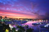 Sunrise over Marina del Rey
