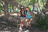 Eun Hee and Hannah