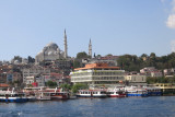 Starting out  on the Bosphorus trip.