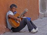 Street Musician San Miguel