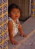 Little Girl Tile Doorway - Three