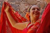 Flamenco Woman Gaze