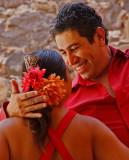 Flamenco Man Gaze