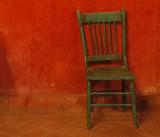 Green Chair Casa Luna