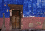 Blue and Pink Wall