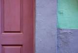Color Block Door Panel