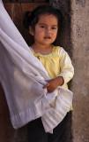Little Girl White Curtain 7