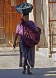 Carrying Basket and Baby
