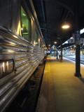 Départ en train sur Via Rail