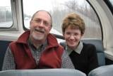 Deux voyageurs heureux