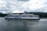 Traversée vers l'Île de Vancouver