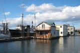 Maisons flottantes à Victoria