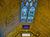 North Chapter House window from the gallery