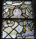 Kitty Wilkinson. Part of the Noble Women window
