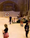 Archery at theWest end of the Cathedral