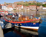The old Whitby lifeboat